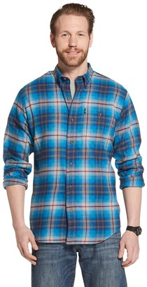 G.H. Bass Men's Fireside Regular-Fit Plaid Flannel Button-Down Shirt