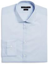 John Varvatos Micro Grid Check Slim Fit Dress Shirt