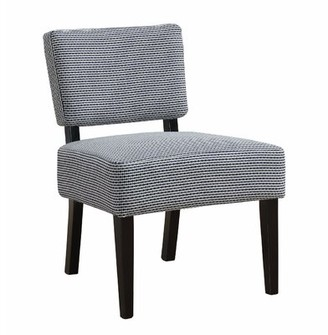 Geis Side Chair Breakwater Bay Upholstery Color: Blue