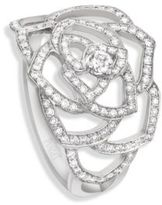Piaget Rose Diamond & 18K White Gold Ring