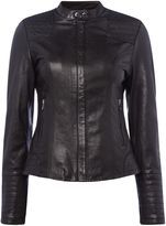 Salsa Leather Jacket in Black