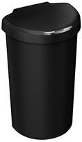 Simplehuman 40 Litre Plastic Semi Round Sensor Bin - Black