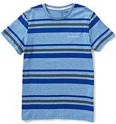 Calvin Klein Big Boys 8-20 Flux Crewneck Striped Tee