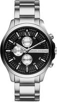 Armani Exchange A|X Men's Chronograph Stainless Steel Bracelet Watch 46mm AX2152