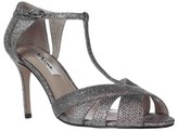 Nina Ricarda T-strap Mesh Evening Sandals, Steel Dreamland.