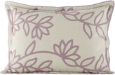 Jane Wilner Designs Standard Sham with Lavender Pattern