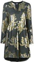 P.A.R.O.S.H. 'Sem' dress - women - Silk/Polyester/Metallic Fibre - S