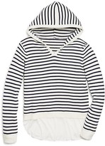 Aqua Girls' Hooded Layered Look Sweater , Sizes S-XL - 100% Exclusive