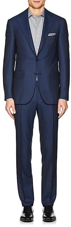 Canali Men's Capri Striped Wool Two-Button Suit