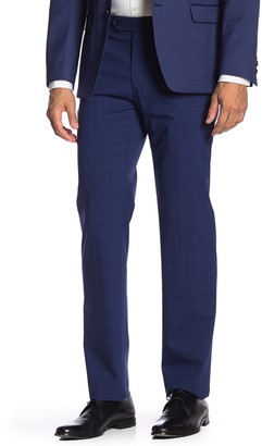 """Tommy Hilfiger Flat Front Tyler Stretch Suit Separates Pants - 30-34"""" Inseam"""