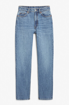 Monki Moluna mid blue jeans