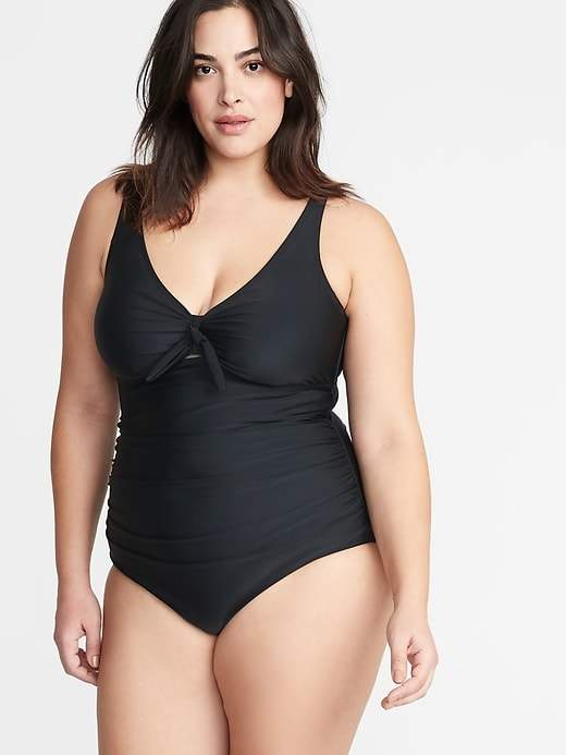 e9072905a60 Old Navy Black Plus Size Swimsuits - ShopStyle