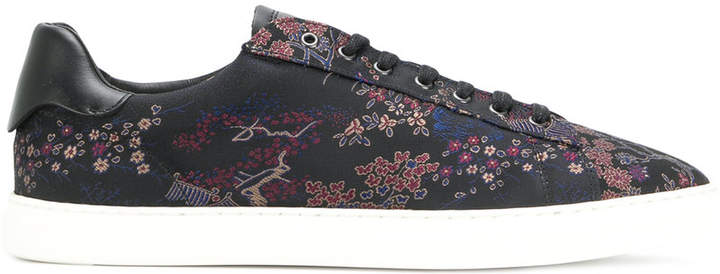 DSQUARED2 floral print sneakers