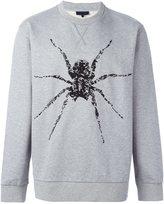 Lanvin spider print sweatshirt - men - Cotton - M