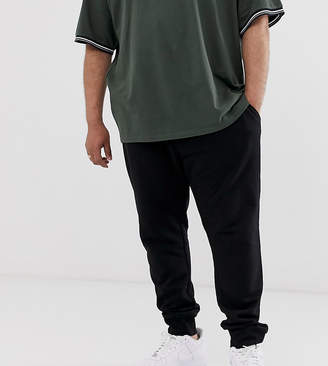 New Look Plus joggers in black