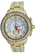 Rolex Yacht Master II 116688 18k Yellow Gold 44mm 39.5Ct Diamond Watch