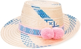 Yosuzi Marea Oceanic Pom Pom Hat