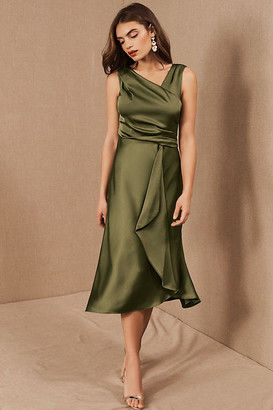 BHLDN Alston Dress By in Green Size 2