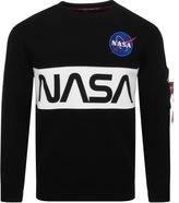 Alpha Industries Nasa Sweatshirt Black