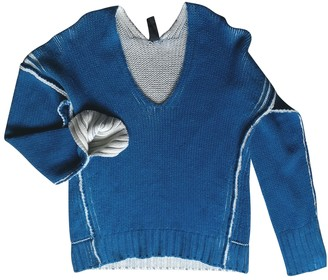 Zero Maria Cornejo Zero+maria Cornejo Blue Wool Knitwear for Women