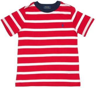 Ralph Lauren Striped Cotton Jersey T-Shirt