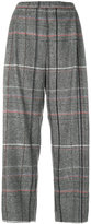 Stephan Schneider plaid cropped trousers