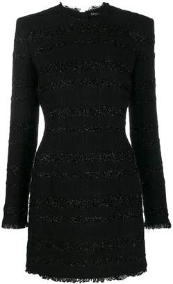 Balmain short tweed dress