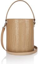 Meli-Melo Santina Mini Bucket Bag Sand Large Woven