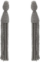 Oscar de la Renta Long Tassel C Earrings