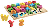 John Lewis Chunky Wooden ABC Puzzle