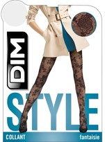 Dim Style Velour Lace Patterned Tights