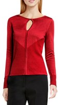 Vince Camuto Keyhole Sweater (Regular & Petite)