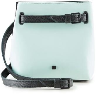 Maria Maleta Bum Bag Back & Mint Blue