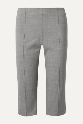 Maggie Marilyn Net Sustain One Step Ahead Cropped Woven Straight-leg Pants - Gray