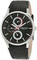 Johan Eric Men's Streur Dial Leather Day Date 24 Hour Watch JE4002-04-007