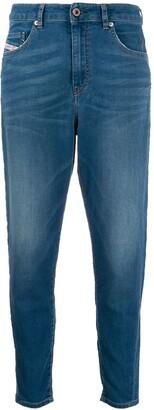 Diesel five pocket skinny jeans