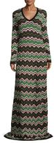 M Missoni Intarsia Maxi Dress