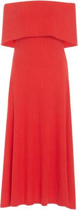 Mara Hoffman Imogen Off-The-Shoulder Knit Dress