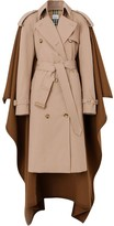 Burberry Blanket Detail Cotton Gabardine Trench Coat