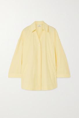 Co Cotton-blend Shirt - Yellow