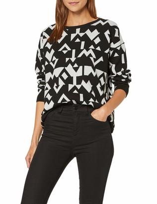 Mavi Jeans Women's Jacquard Sweater Sweatshirt