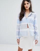 Max & Co. MAX&Co Catullo Stripe Shirt