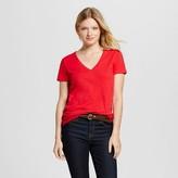 Merona Women's Vintage V-Neck T-Shirt