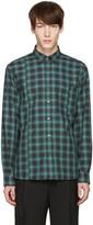 Public School Green Check Retor Shirt