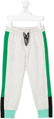 Kenzo Kids Color-Block Track Pants