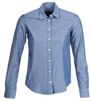 Gant EXUNIDE women's Shirt in Blue