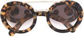 Prada baroque frame sunglasses