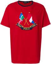 Polo Ralph Lauren crossed flags T-shirt