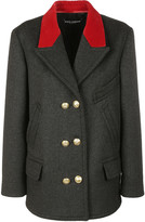 Dolce & Gabbana Double Breasted Pea Coat