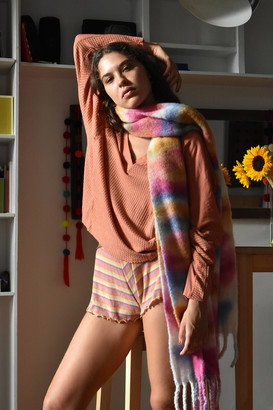 Urban Outfitters Woven Tie-Dye Scarf